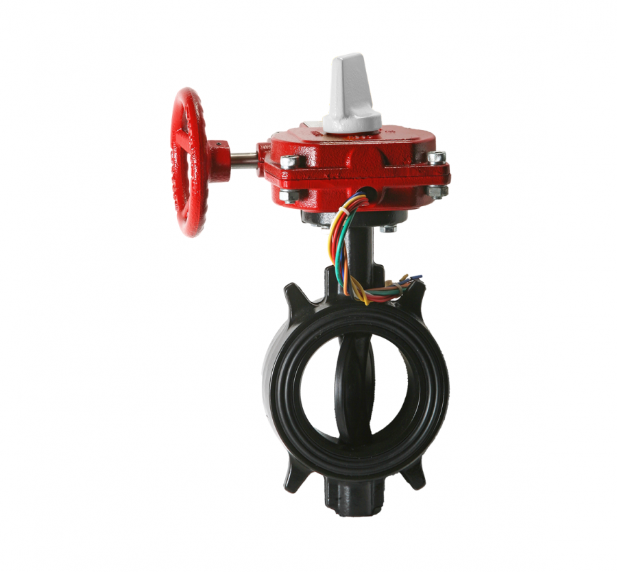 Ductile Wafer Butterfly Valve Normally Closed Butterfly Valve Aleum Co Ltd